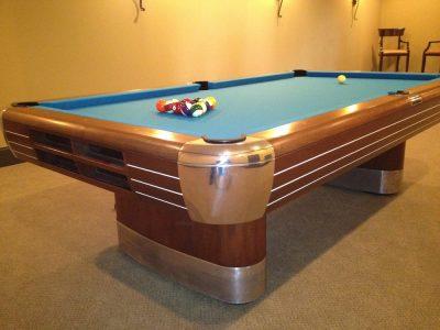 Antique Pool Table Brunswick Anniversary
