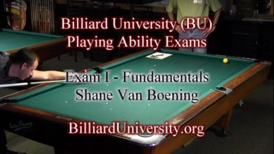 Billiard University Instruction
