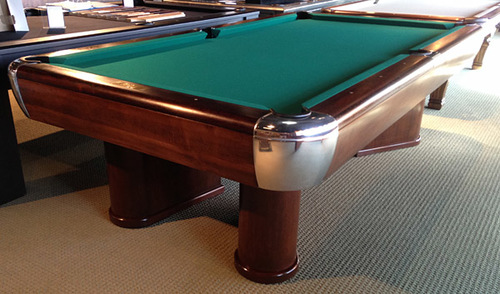 Brunswick Moderne Antique Pool Table Nashville Billiard and Patio