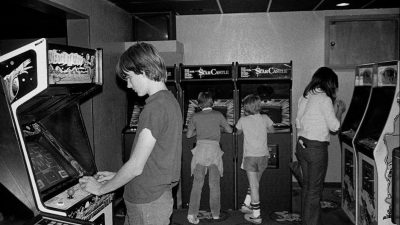 Chuck E. Cheese Arcade circa 1981 – almost 4 decades ago!
