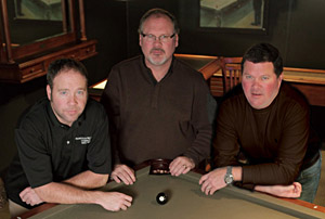 Cliff Ronnie and Glen Gilchrist - Nashville Billiard and Patio - Family Owned Since 1953