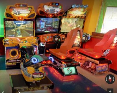 MORE ARCADE MACHINES AT GO USA FUNPARK